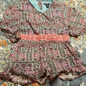 Size 6X limited too romper girls